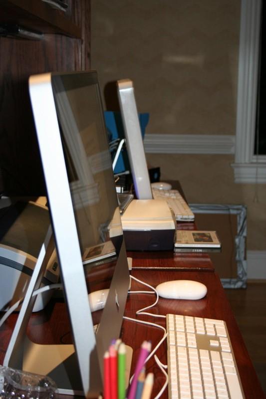 Déballage du nouveau iMac