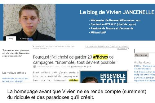 Vivien Jancelle : avant