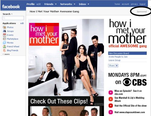 Groupe Facebook How I Met Your Mother