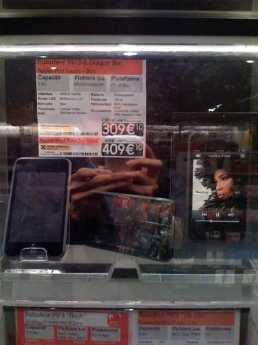 iPod Touch à la FNAC