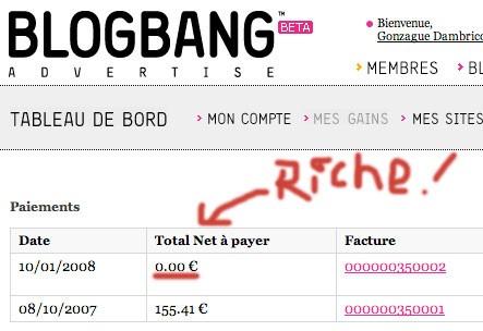 BlogBang vous rend riche !