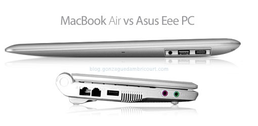 eeePC VS Macbook Air