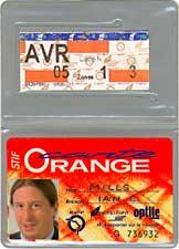 Carte Orange RATP