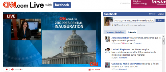 Facebook , CNN et Obama