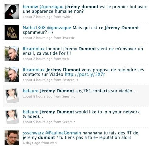 Twitter Jérémy Dumont
