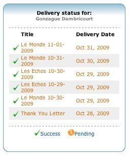 deliveries