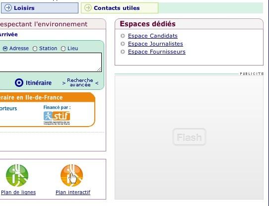Effet de ClicktoFlash - pour désactiver Flash dans Safari