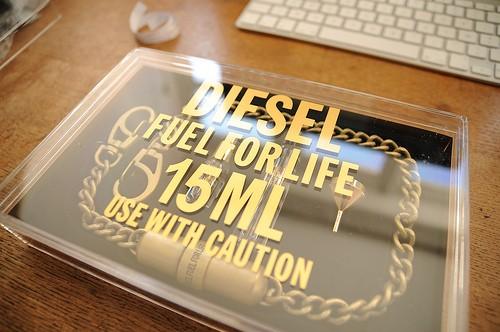 Boîte du parfum Diesel Fuel For Life - Homme - Chaîne