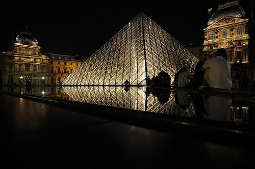 Le Louvre - De nuit