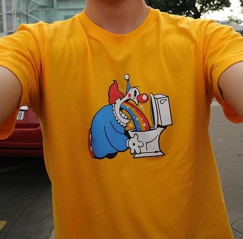Tshirt spécial macdonald
