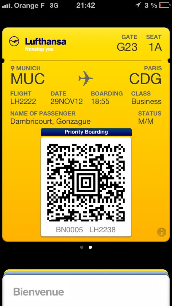 passbook Lufthansa