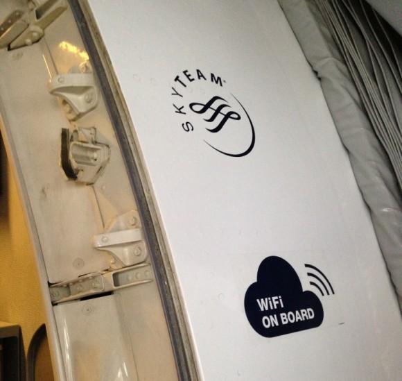 AF - Autocollant Wifi on Board