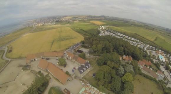 Vue du ciel depuis un drone