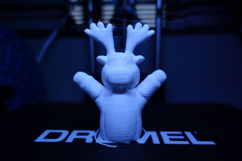 Résultat Impression 3D Dremel